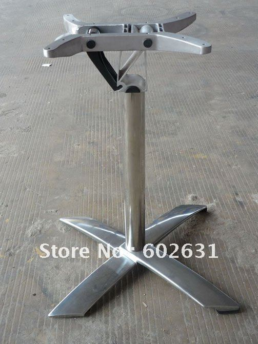 Flip Bar Table Base Aluminum Frame
