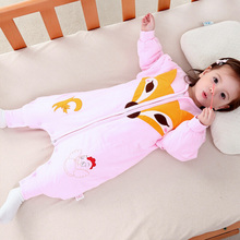 2017 Fashion Infants Kids Cartoon Baby Sleeping Bag Newborn Cotton Spring and Autumn Baby Sleep Sack