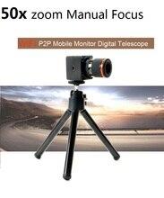 Binóculos 50x APP Controle Sem Fio Gravador de Vídeo Digital Camcorder Wi-fi P2P 50X Zoom Da Câmera Mini