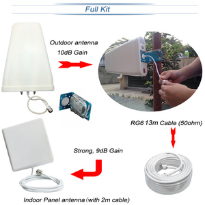 Image 5 - Repetidor de señal GSM 3G 4G ALC, teléfono móvil tribanda para 900/1800/2100MHz 2G DCS WCDMA LTE, amplificador celular S50, Envío Gratis