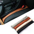 2015 Faux Leather Car Seat Gap Pad Relleno Relleno Spacer Fillers Holster Funda protectora Auto Limpio Limpiador Ranura Tapón Del Enchufe