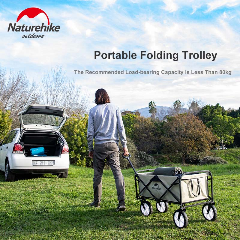 Naturehike 90l Folding Trolley Pushcart