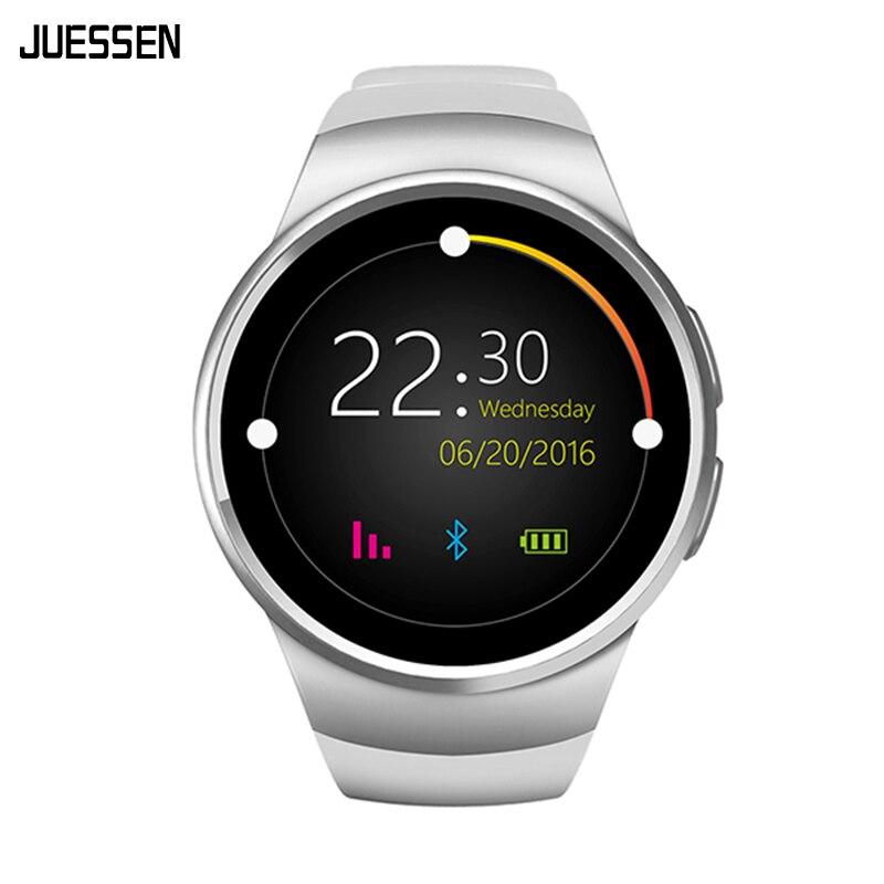 Smartwatch KW18 SIM TF Card Bluetooth Smart Watch Heart Rate Monitor TK2502C 1.3 inch HD IPS Wristwatch Slot Reloj Inteligente