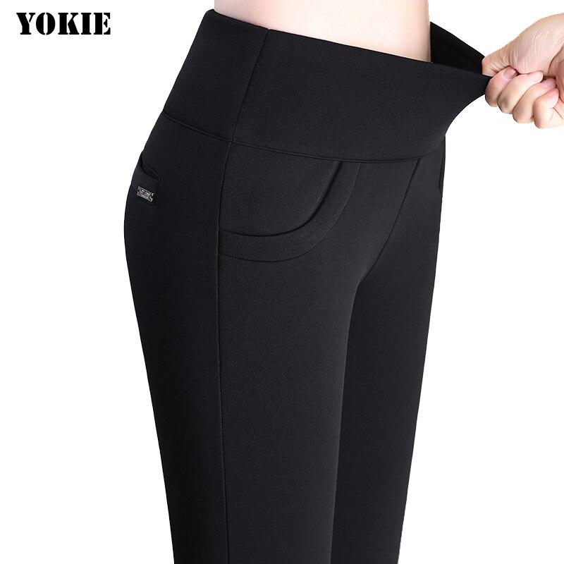 S-6XL Plus velikost 2016 léto Ženy lýtkové kalhoty Tužka Kalhoty Paige Vysoká pružnost Korejský styl Volný čas Vysoce kvalitní kalhoty