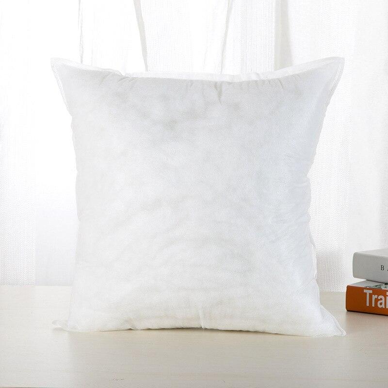 Almofada voiture canapé de haute élastique oreiller insérer PP coton coussin de remplissage 45x45 cm cojines decorativos para canapé coussin