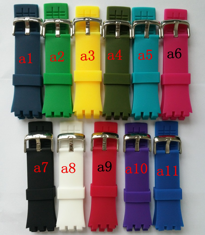 New! For Swatch Touch Silicone Strap SWATCH TOUCH Surb100surw100 Watch Accessories
