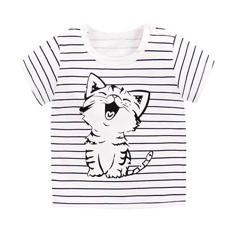 Children's T shirt Cartoon Cute Cat / Rabbit / Panda / Dog