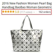 2016 New Fashion Women Pearl Bag Diamond Lattice Tote Geometry Quiltied Handbag BaoBao Woman Geometric Shoulder Bag