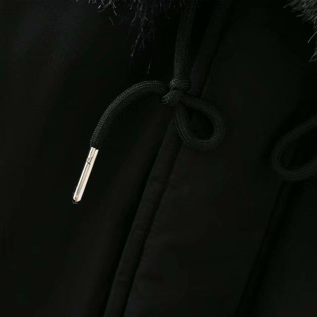 Fermetures 2018 À 5xl Taille La Fourrure De Glissière Chaud Noir Femme Casual Plus D'hiver Manteau Lâche Parka Brodé Dames 2xl Femmes Vestes 87xTxO