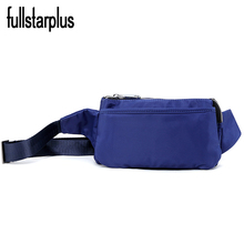 Imported nylon Waist Bag Casual Travel Small Wallets Shoulder Bags Travel Pack Phone Coin Purse Shoulder