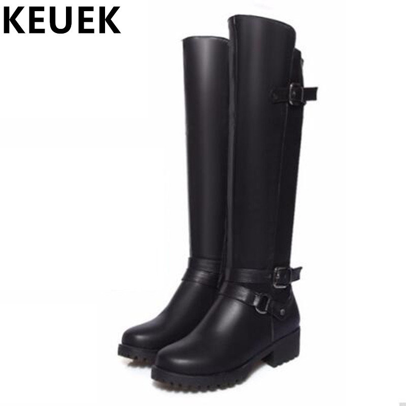 Women Knee-High Motorcycle boots Soft Leather Fashion Riding Equestrian boots Female Winter boots 03 scoyco motorcycle riding knee protector extreme sports knee pads bycle cycling bike racing tactal skate protective ear