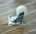 4 pçs/lote 23.5 mm de giro móveis caster / universal roda de móveis / 360 graus nylon rodízio de borracha