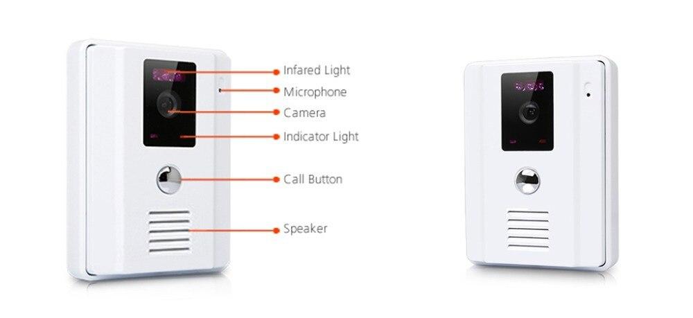 Новый 9 дюймов видео-телефон двери ЖК-дисплей Мониторы видео звонок Кольца CMOS ночного Версия Камера с внутренней Системы для дома безопасно...