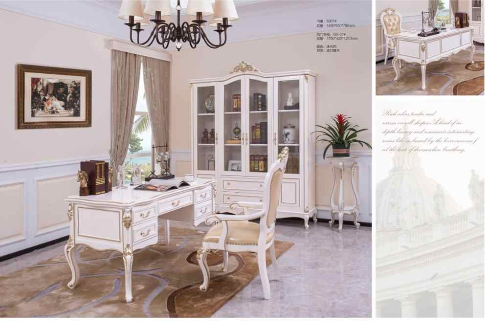 French Baroque Style Luxury Executive Office desk / European ...