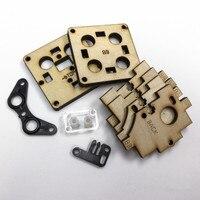 Ultimaker Peças Da Cabeça De Impressão Original de madeira Pack (UMO) para DIY ultimaker impressora Original 3D|Peças e acessórios em 3D|   -