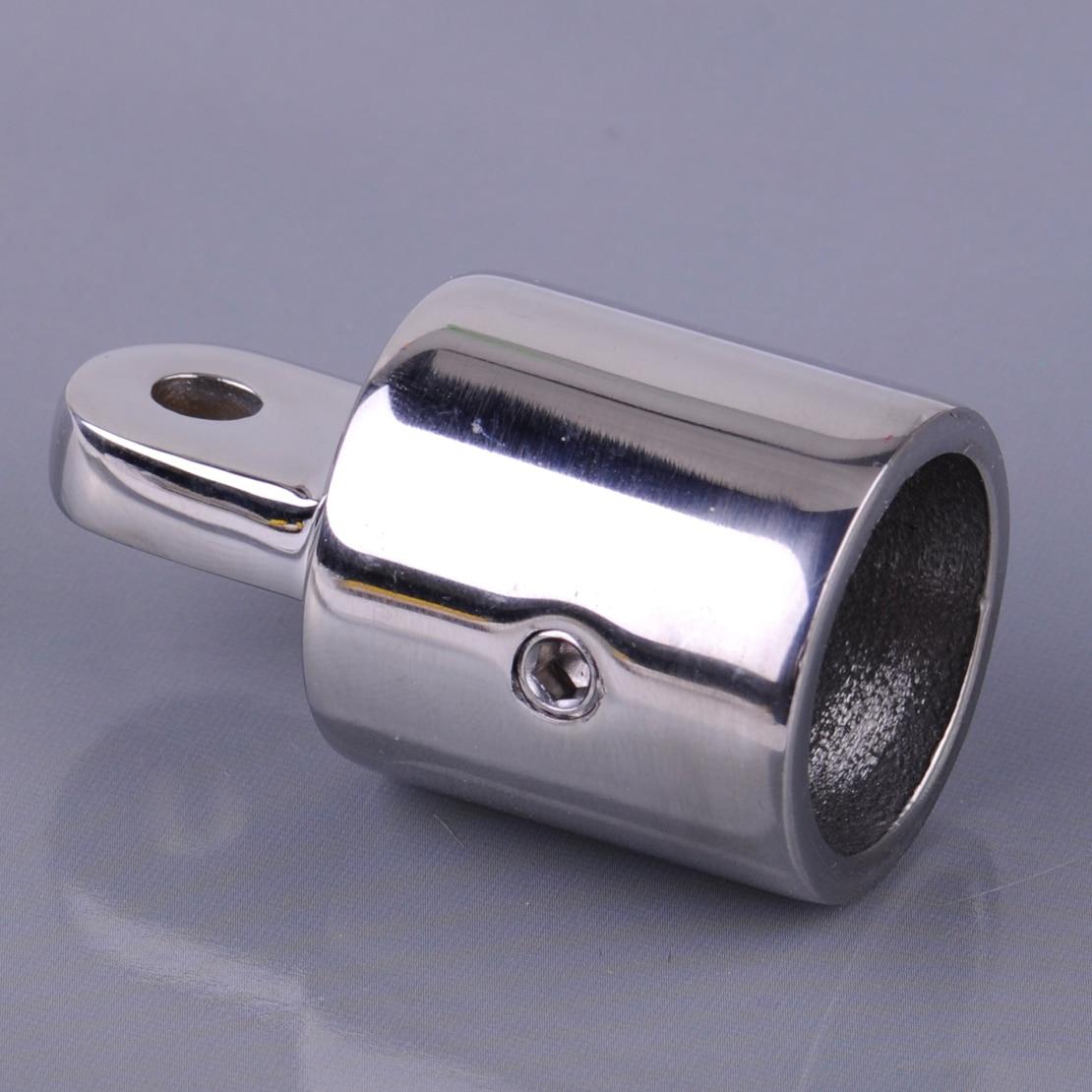 7//8/'/' Eye End Cap Bimini Top External Fitting Stainless Steel Marine Hardware