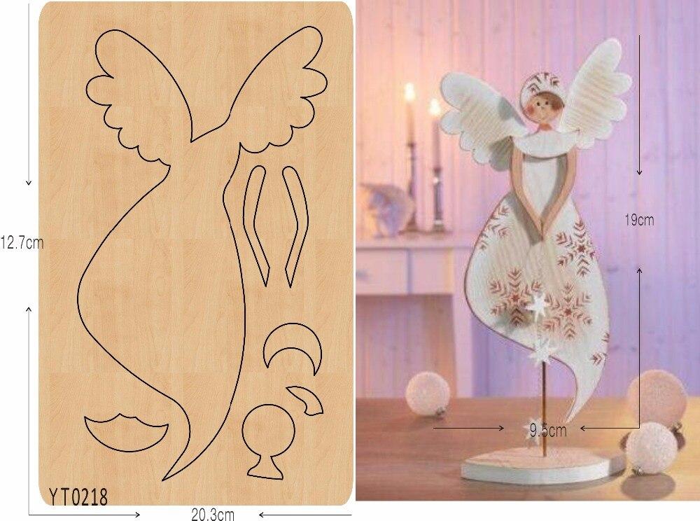 Angel of beauty DIY wooden die cutting tool die Scrapbook mold YT0218