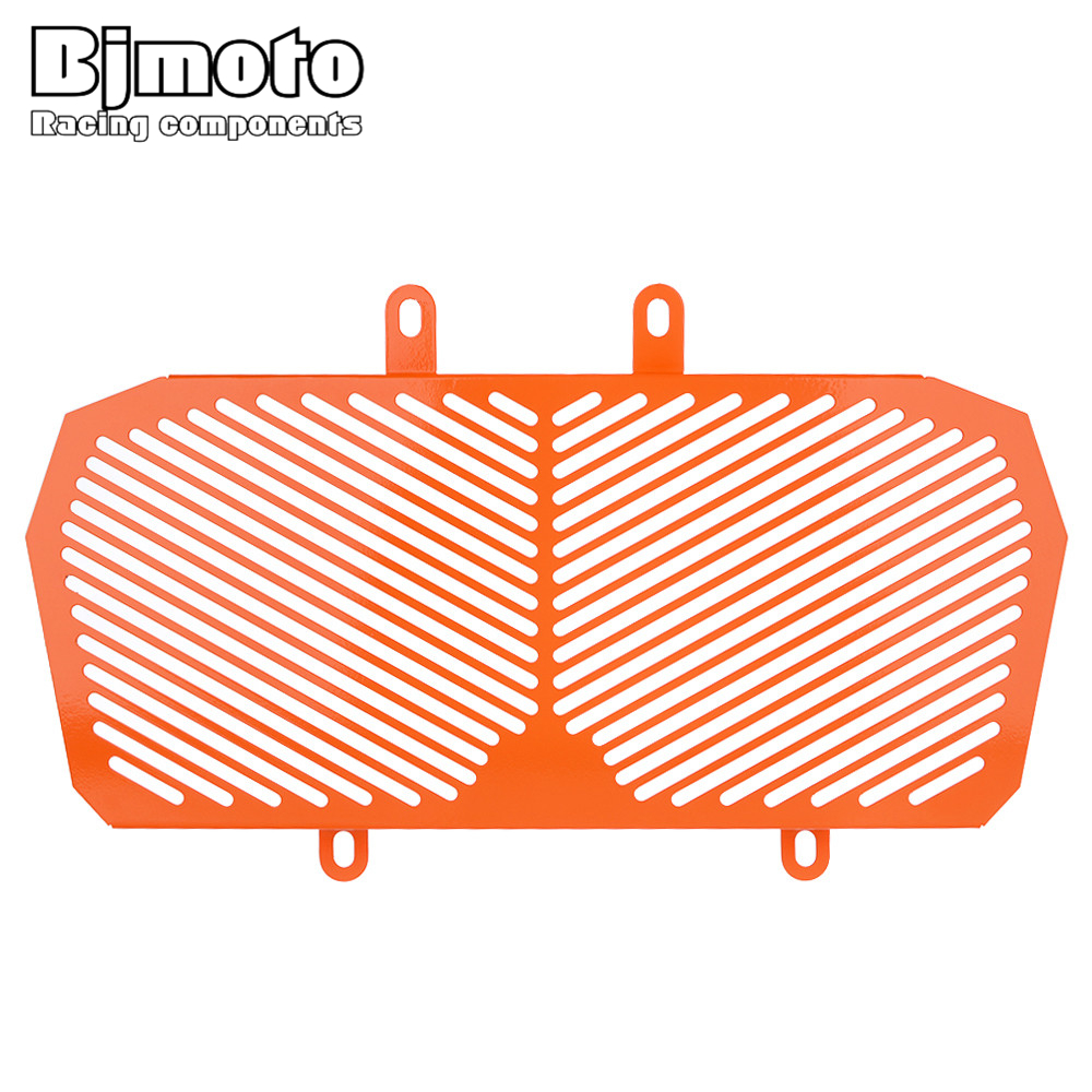 BJMOTO For KTM DUKE 390 2013-2016 Orange Motorcycle Motorbike Radiator Guard Protector Grille Grill Cover for ktm 390 duke motorcycle leather pillon rear passenger seat orange color