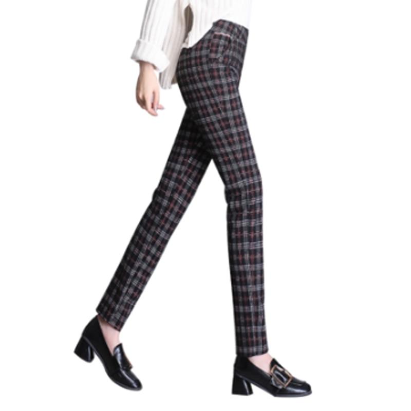 2019 Autumn Winter European Style Women Trousers Women's Pants