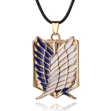 Attack On Titan Anime Wings Of Liberty Emblem Necklace