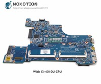 NOKOTION For HP Probook 430 G1 Laptop Motherboard SR16Q I3 4010U CPU 727769 001 727769 501 727769 601 48.4YV10.011