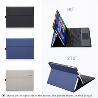 Men Stand Laptop Case For Microsoft Surface Pro 4 Foldable Laptop Holder For Surface New Pro