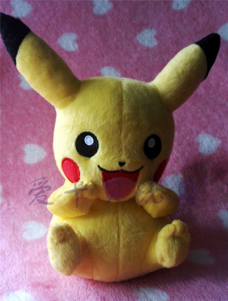 Pikachu Plush Toys Cute Plush Toys Children's Gift Toy Kids Cartoon Peluche Pikachu Plush Doll 20cm hot cute pikachu plush toys 22cm high quality plush toys children s gift toy kids cartoon peluche pikachu plush dolls for baby