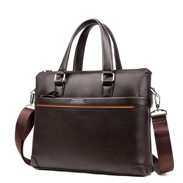 Handbag Men Messenger Bags PU Leather Man Bags Fashion Male Men's Briefcase Man Casual Shoulder Bag 2