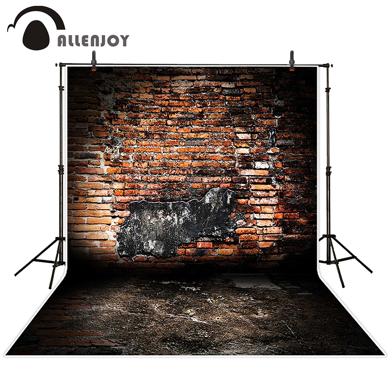 kate photographic background Dark dilapidated brick wall backdrops baby kids vinyl props 5x7ft мозаика l antic colonial frame brick dark 10x20 28 5x31 1