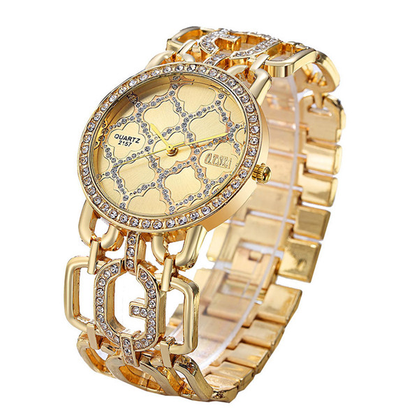 Luxury O.T.SEA Brand Rose Gold Bracelet Watches Women Ladies Crystal Dress Quartz Wristwatches Relogio Feminino 2157 baosaili brand luxury crystal gold watches women ladies quartz wristwatches bracelet relogio feminino relojes mujer bs001