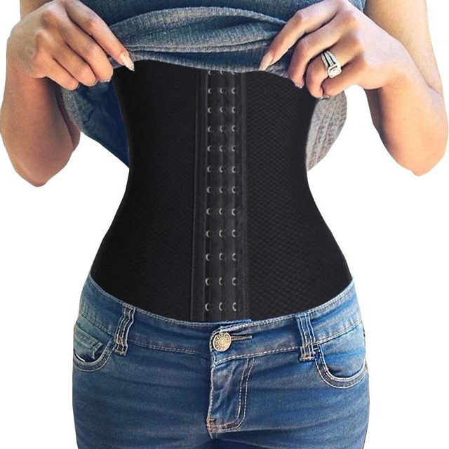 Hot shaper tummy Trimmer Slimming Belt waist trainer ...