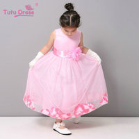 Tutu Toddler Flower Girl Dress Wedding Evening Holiday Princess Dress Baby Girls Spring Dress For Party