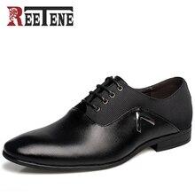 Mode Mens Spitzschuh Kleid Schuhe, Sommer Männer Schuhe Luxus Marke 2016 hohe Qualität Männer PU Schuhe Oxford Schuhe Für Männer Zapatos
