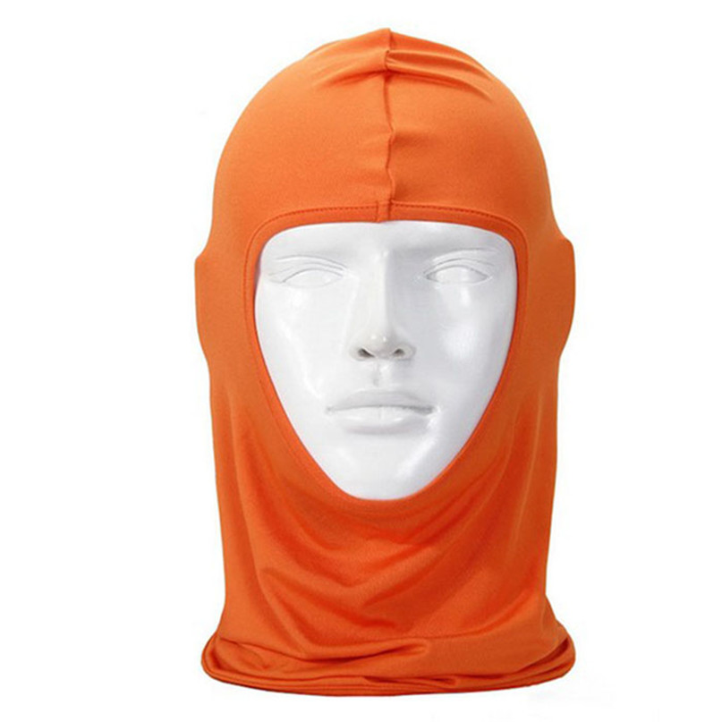 New Classic Lycra Ski Face Mask Bike Bicycle CS Sports Football Mask Balaclava Headband headgear halloween face mask #2a (11)