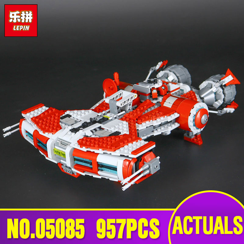 Lepin 05085 Star Genuine War Series The Defender Class Cruiser Set Building Blocks Bricks Educational Toy as Gift Legoing 75025 rollercoasters the war of the worlds