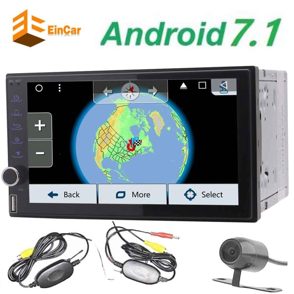 EinCar 7 inch Android 6 0 Octa Core Car Stereo Autoradio In Dash GPS Navigation 2
