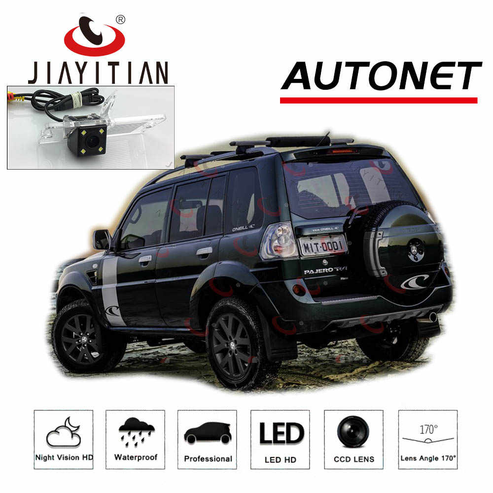 Jiayitian rear camera for mitsubishi pajero 4 pajero tr4 3d ccd night vision backup camera rearview