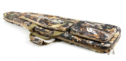 1 PC arbre feuille chasse tactique fusil pistolet sac 1000D Oxford tissu Airsoft pistolet étui sac à bandoulière robuste pistolet sac de transport