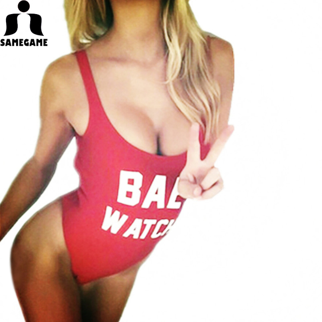 BAE WATCH New One Piece SEXY Backless Swimsuit