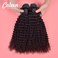 "Brazilian Kinky Curly Virgin Hair 7A Brazilian Virgin Hair 4 Bundles Afro Kinky Curly Hair 8""-30"" Human Hair Weave Hot Selling"