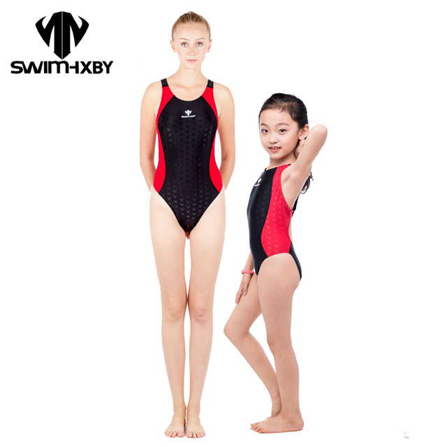 c079fb2257 HXBY Competitive Swimming Suit For Women One Piece Swimsuit For Girls Swimwear  Women Bathing Suits Women s