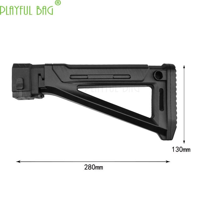 Outdoor Activities CS New General Toy Soft Bullet Gun Refitting Parts No. 176 MOE AK Tailstock Rear Support [3D Printing] KJ11