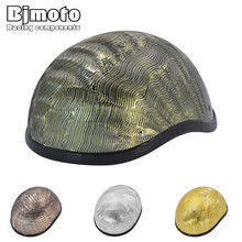 Bjmoto NEW motorcycle retro helemt Motorbike Bicycle Cycling Open Face Half Helmet Motor Head Protecter Helmet
