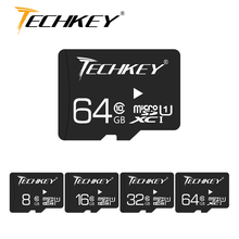 Оптовая продажа карта памяти Micro SD карта 64 ГБ 32 ГБ 16 ГБ 8 ГБ класс 10 флеш-карта памяти TF микро SD ручка Привод флэш-память высокая скорость для телефона