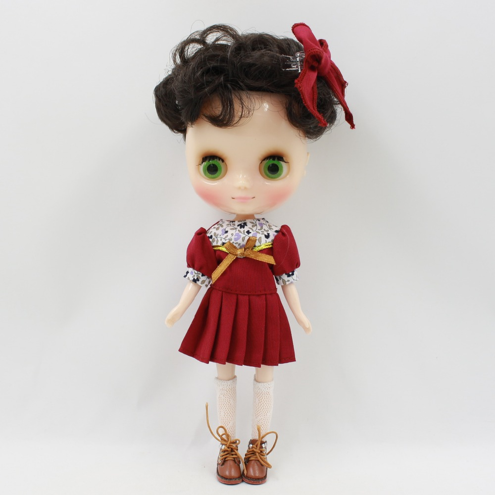 Middie Blythe Doll Outfit Clothes With Headdress 2