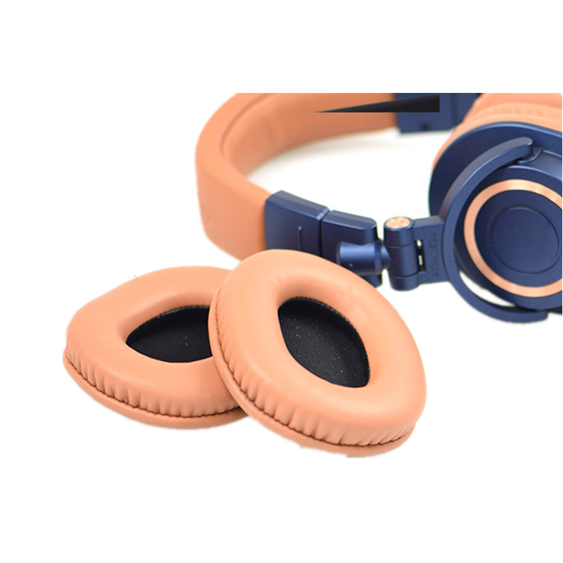 Foam Ear Pads Cushions Headband for Audio Technica ATH M50X M50/M40X/M40 for Sony MDR for Monoprice 8328 Headphones