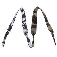 Camo Pattern Eyeglasses Lanyard Neck Cord Sunglasses Strap Band Sports Glasses Cord Eyewear Strap Eyeglass Chain