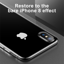 iPhone X Case, Ultra Thin Soft Silicone Case For iPhone X Coque Anti Knock Transparent Protective Phone Accessories