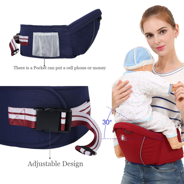 Newborn Waist Stool Baby Carrier For Kangaroo Suspenders Multifunction Infant Hipseat Baby Sling Hold Backpack Kids Hip Seat 2