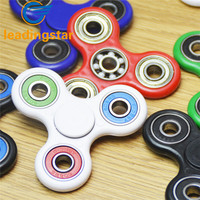 LeadingStar Adult Kid Luminous Tri Fidget Hand Spinner Ball Bearing Gyro Toy Relieve Stress Anxiety Reducer